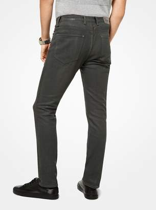 Michael Kors Parker Slim-Fit Cotton-Blend Jeans