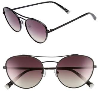 KENDALL + KYLIE Yasmin 55mm Aviator Sunglasses
