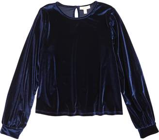 Tucker + Tate Bubble Sleeve Velour Top