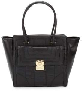 Love Moschino Textured Faux Leather Tote