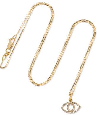 Ileana Makri Empty Eye 18-karat Gold Diamond Necklace