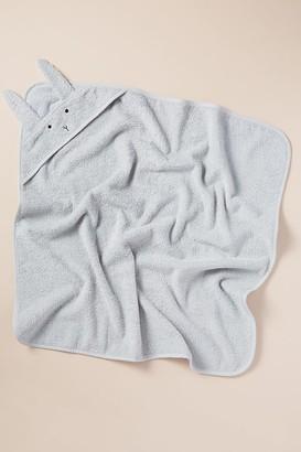 Liewood Organic-Cotton Rabbit Hooded Towel