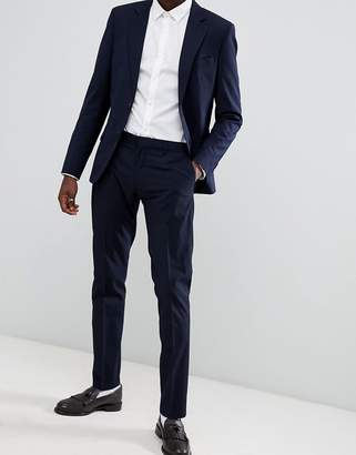 Antony Morato Slim Fit Suit Pant In Navy