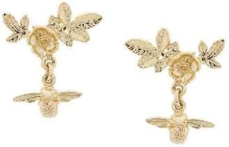 Alex Monroe Floral Cluster Stud Earrings