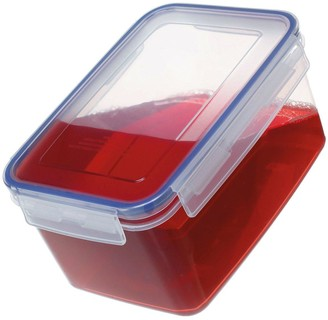 Addis Clip & Close Set Of 3 X 900 Ml Food Storage Containers, Clear