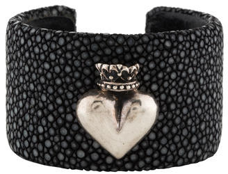 King Baby Studio Stingray Heart Cuff $225 thestylecure.com