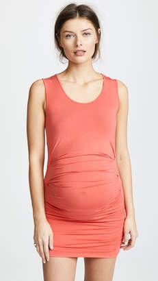 Ingrid & Isabel Ruched Tank Dress