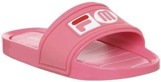 mel Melissa Slide + Fila Sandals Pink