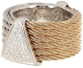 Alor 18K Gold & Sliver-Plated Ring
