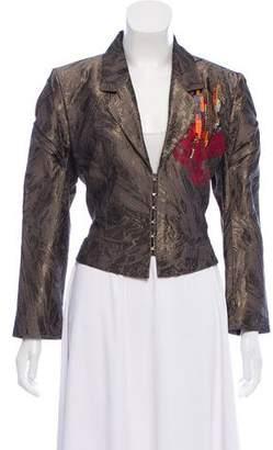 Christian Lacroix Brocade Embellished Blazer
