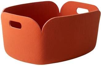 Muuto Restore Recycled Plastic Felt Basket