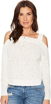 Lucky Brand Women's Cold Shoulder Sweater
