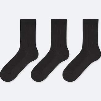 Uniqlo Women's Ribbed Calf Socks (3 Pairs)