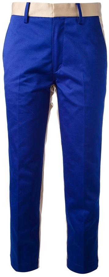 Tsumori Chisato bi-colour chino trouser