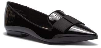 Kensie Mackenzy Patent Bow Tie Flat