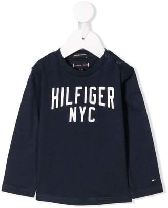 Tommy Hilfiger (トミー ヒルフィガー) - Tommy Hilfiger Junior ロゴ Tシャツ