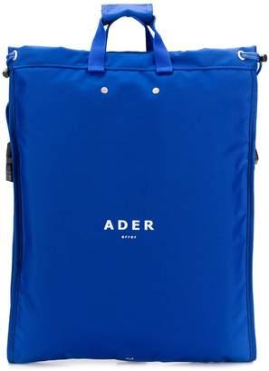 Ader Error square shaped oversized backpack