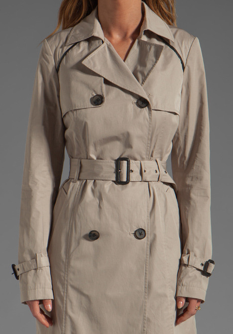 Mackage Louise Pop Trench Jacket
