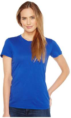 Mod-o-doc Fitted Short Sleeve Crew Women's Clothing