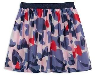 Kate Spade Girls' Confetti Hearts Chiffon Skirt - Big Kid