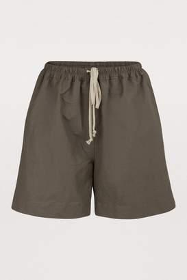 Rick Owens Linen blend shorts
