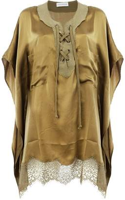 Faith Connexion drawstring blouse