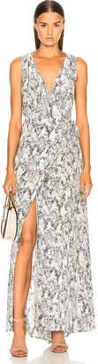 L'Agence Calla Wrap Dress