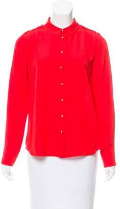 Sonia Rykiel Sonia by Button-Up Silk Blouse