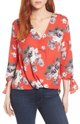 Everleigh Surplice Neck Top