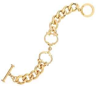 "C. Wonder Interlocking Status ""C"" Station CurbLink Bracelet"