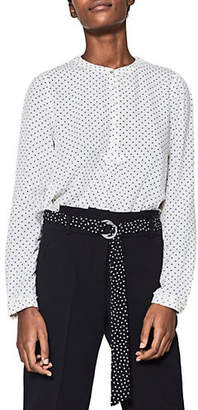 Esprit Long-Sleeve Dotted Shirt