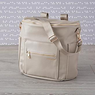 Fawn Designs Grey Backpack Diaper Bag $160 thestylecure.com