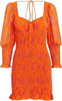 For Love & Lemons Peony Smocked Dress