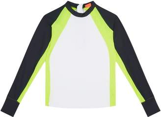 Sunuva Neon Stripe Rash Vest