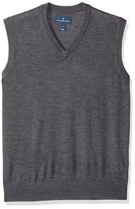 Buttoned Down Men's Italian Merino Wool Lightweight Cashwool Sweater Vest