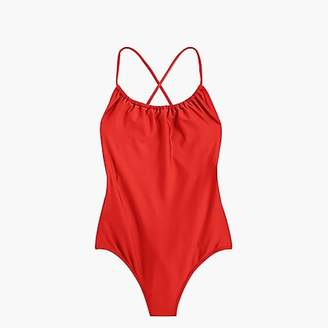 119c5e98dfb ... J.Crew Playa Rockaway ruched one-piece swimsuit