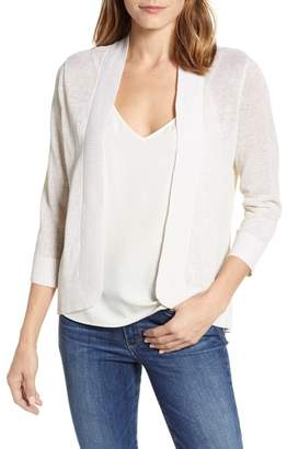 Tommy Bahama Lea Shimmer Open Front Cardigan