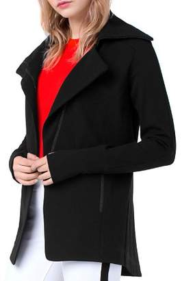 Liverpool High-Low Knit Jacket