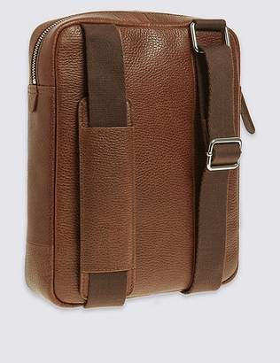 Marks and Spencer Pebble Grain Leather Cross Body Bag