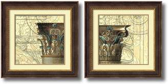 Amanti Art ''Architectural Inspiration'' 2-piece Framed Wall Art Set