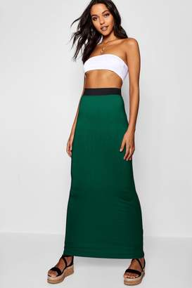 boohoo Tall Jersey Basic Maxi Skirt