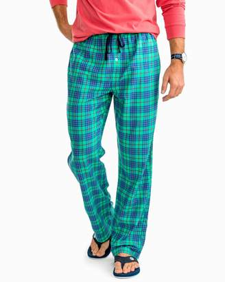 Southern Tide Pine Plaid Lounge Pant