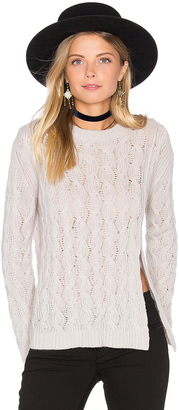 Inhabit Cashmere Crop Sweater $407 thestylecure.com