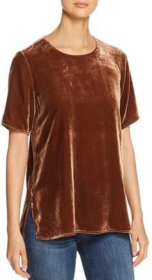 Eileen Fisher Short-Sleeve Velvet Tee