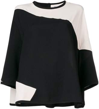 Henrik Vibskov colour block blouse