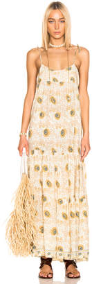 Natalie Martin Melanie Dress in Vintage Flower & Sand | FWRD