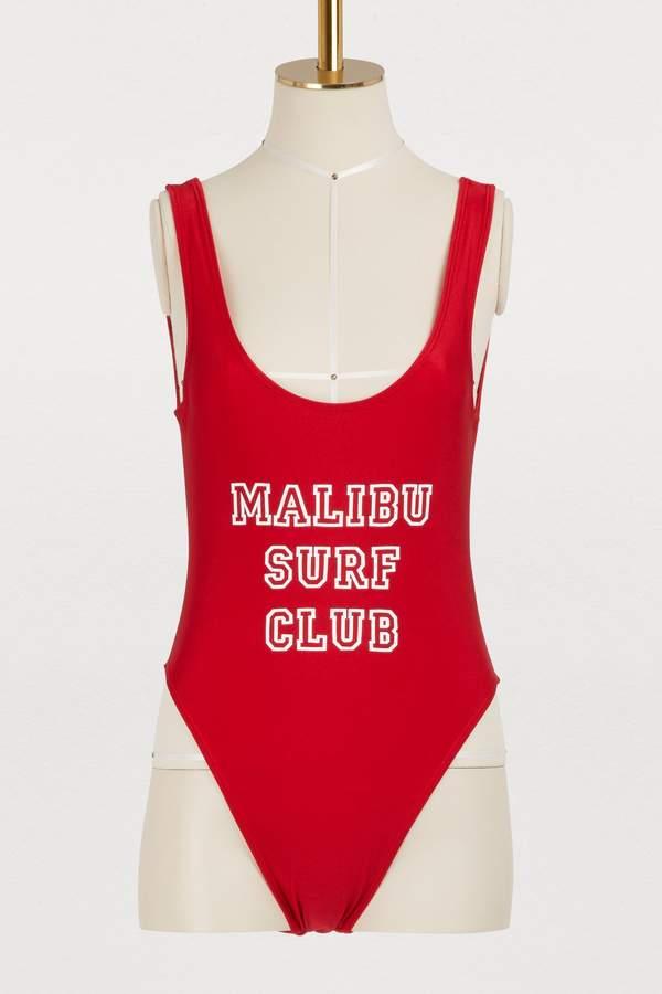 Malibu surf club one-piece swimsuit