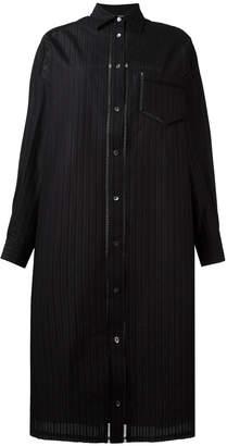 Veronique Branquinho striped shirt dress