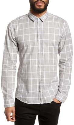 HUGO Ero Slim Fit Check Sport Shirt
