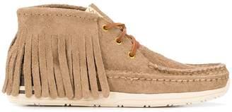 Visvim fringed moccasin shoes